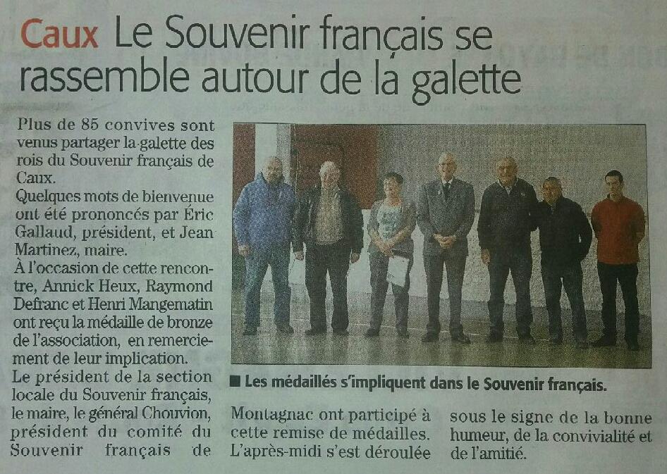 Galette 2017 du 15 janvier