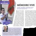 Article Mon Hérault  Richard Porte-Drapeau