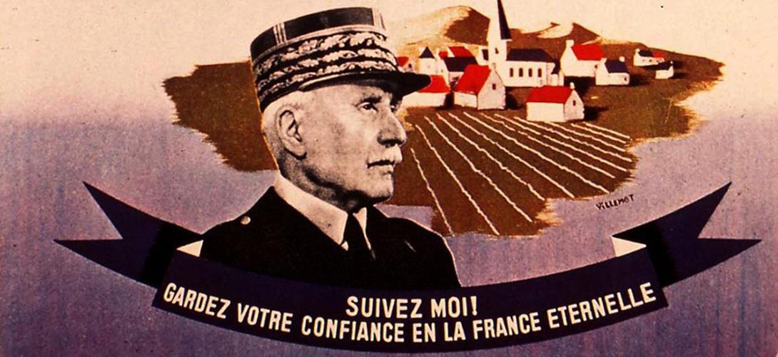 Quel sera le chef du régime de Vichy créé le 10 juillet 1940 ?